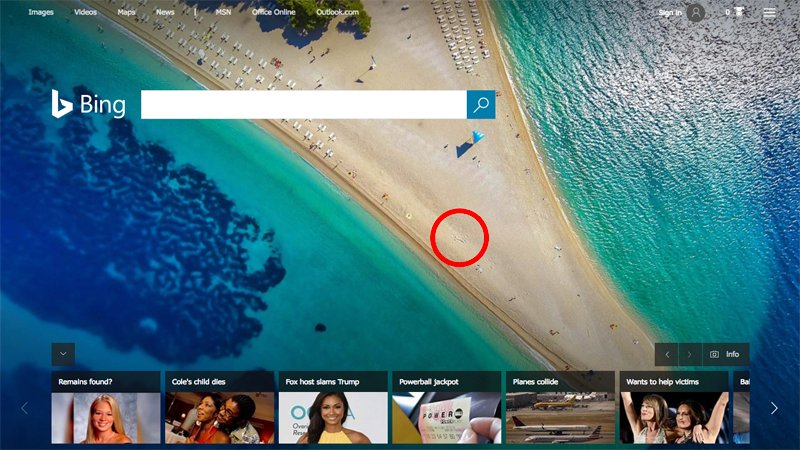 How long will it take Bing to realize there's a penis on its