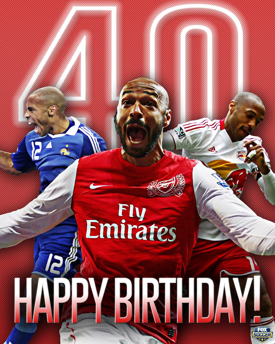 #RapidReplay #FIFA #ConfedCup #WorldCup Happy 40th birthday to Thierry...