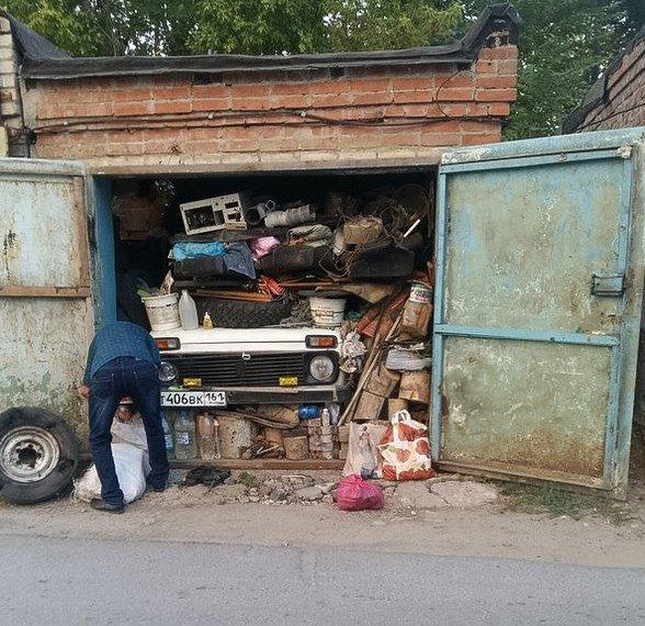 Открытка, приколы картинки про гараж