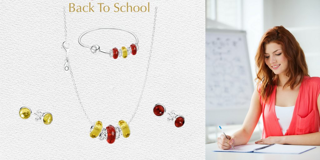 Go Back To School in style &amp; select a Murano charm, chain &amp; 2 spacers for $99 ($150 value). @miamilakesj #Pandorajewelry #happythursday <br>http://pic.twitter.com/Wnb94zpCYa