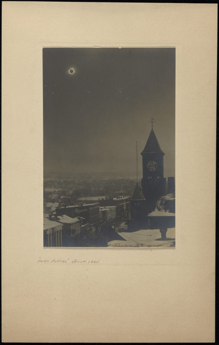 test Twitter Media - Did you know there was a #SolarEclipse in 1925 that passed right over #Middletown? 🌒  Photo: @wesastro #TBT #Eclipse2017 https://t.co/Vdz0WjYZOJ