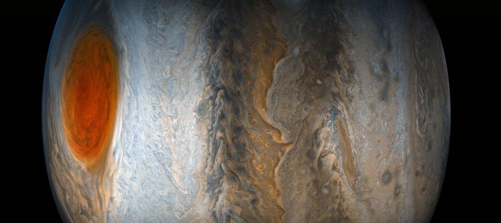 imagem pra pensar na vida: Jupiter: A New Point of View via NASA https://t.co/N4qJKx7hQn