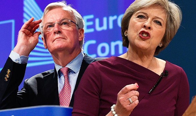 'We're working at pace' UK to start trade talks with EU in OCTOBER despite Barnier warning https://t.co/7SoZfqOwYK