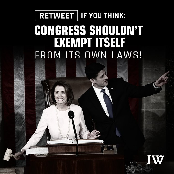 JW still says Congress&#39;s unlawful #Obamacare exemptions should END - &amp; we asked Trump Admin to help. See how here:  http:// jwatch.us/HRaRNe  &nbsp;  <br>http://pic.twitter.com/wNdDhLNdEj