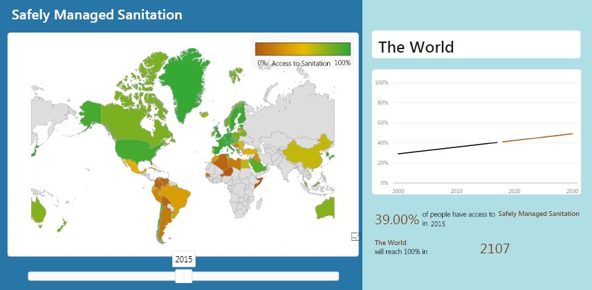 WASHwatch On Twitter Only Of The Global Population Have - 2015 world population interactive map