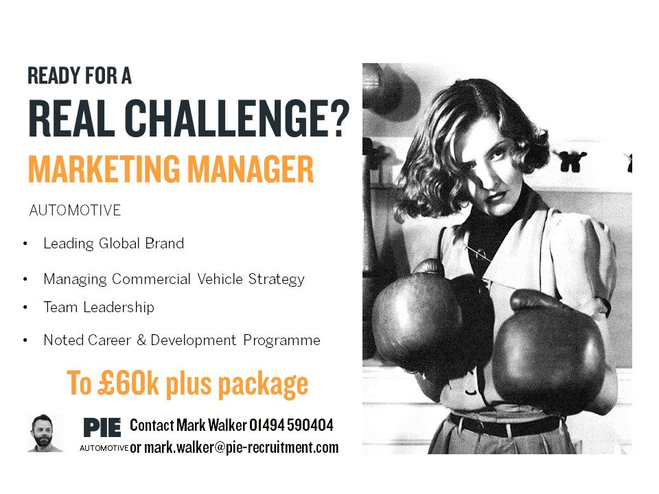 Looking for your next #Marketing #Challenge in the #Automotive world?  Well this could be the #opportunity for you  http:// bit.ly/2uTX1gT  &nbsp;  <br>http://pic.twitter.com/2abY3XIBDa