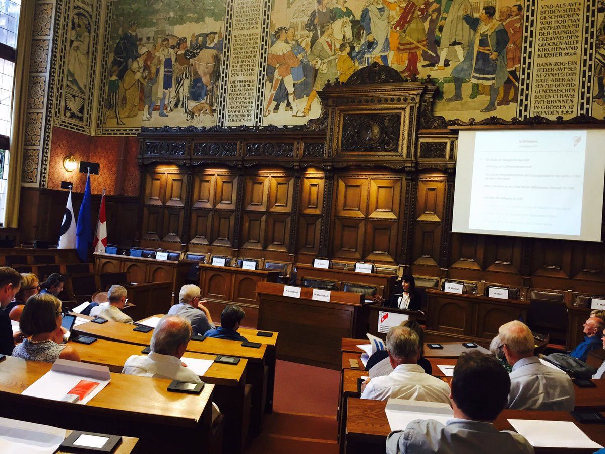 Introductory workshop for the #CSAmeeting in #Basel #rathaus #5thSwitzerland #SwissAbroad<br>http://pic.twitter.com/4uLdL6begB