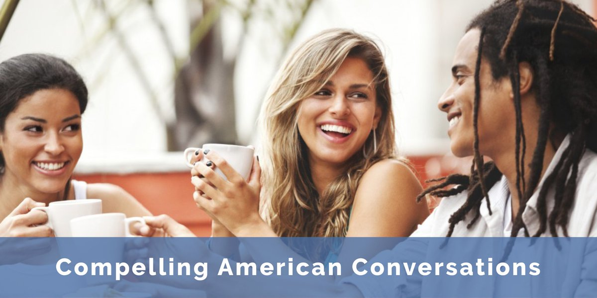 Compelling American Conversations -  Print: $20.99 E-Book: $7.49 -  https:// buff.ly/2uyL00h  &nbsp;   #ESL #ELL #TEFL #TESOL #LearnEnglish #book <br>http://pic.twitter.com/GFfjnOXMrH