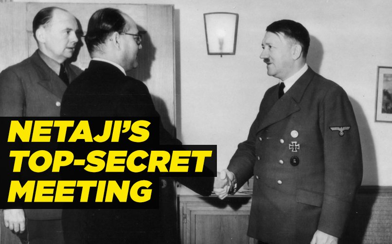 In 1943, #Netaji had a top-secret meeting with German officers. Why? F...