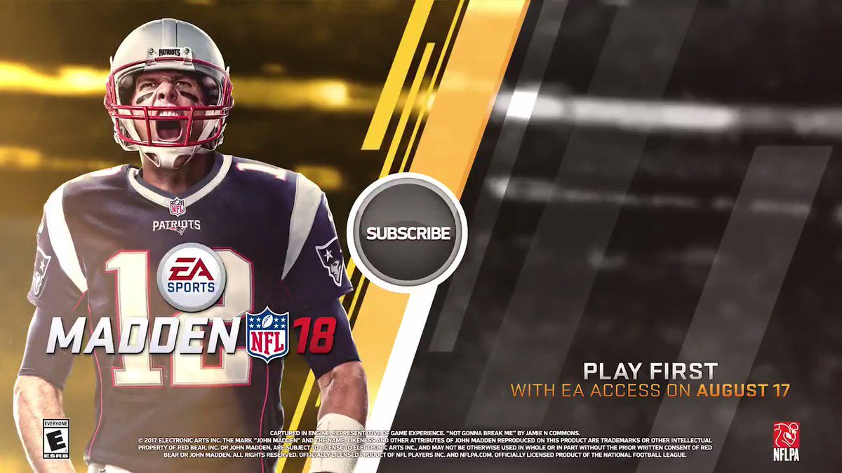 This Is The Year.   Retweet @EAMaddenNFL to receive a reminder from us when #Madden18 launches on 8/25! https://t.co/X03FJg9H2s