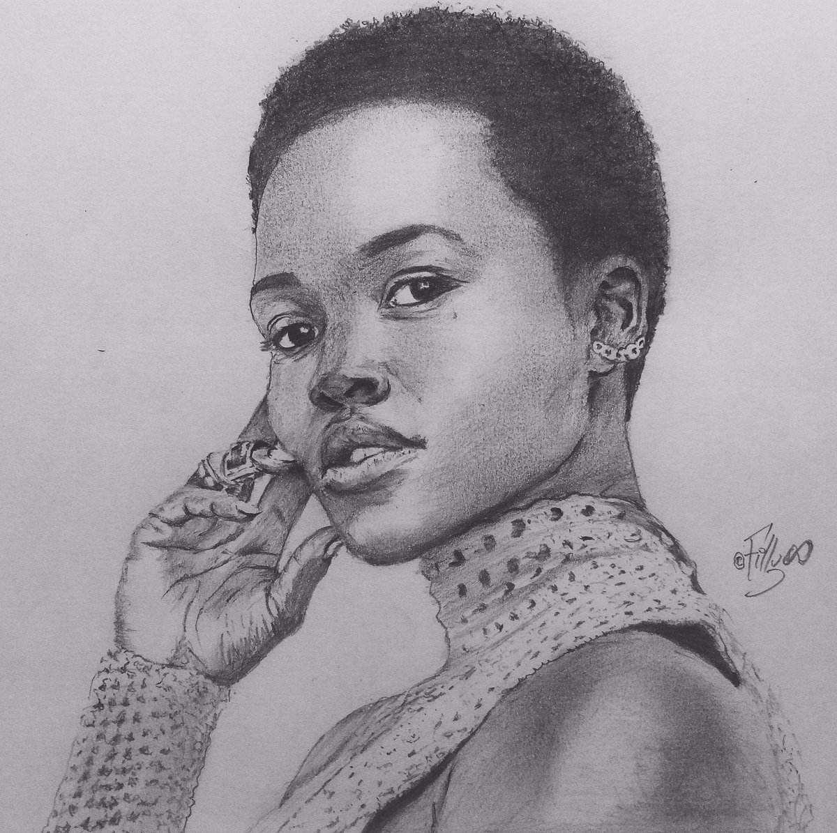 A simple RT would increase the chance of @Lupita_Nyongo to see this. #DrawnByInfinity #Drawing #Art<br>http://pic.twitter.com/N7vAZs9VjI