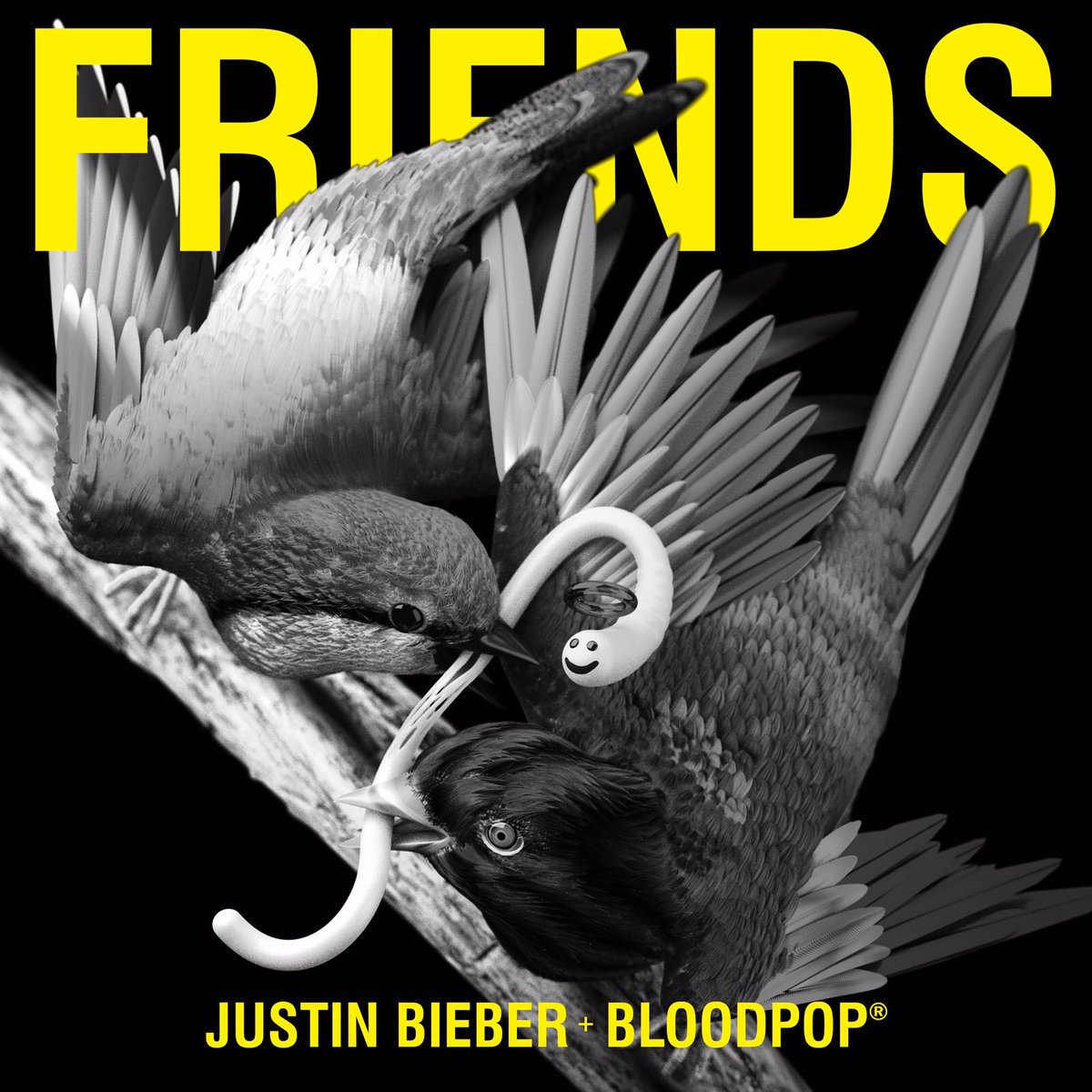 New music alert 🎶 @justinbieber x @bloodpop x #FRIENDS 🔥👫  Listen now...