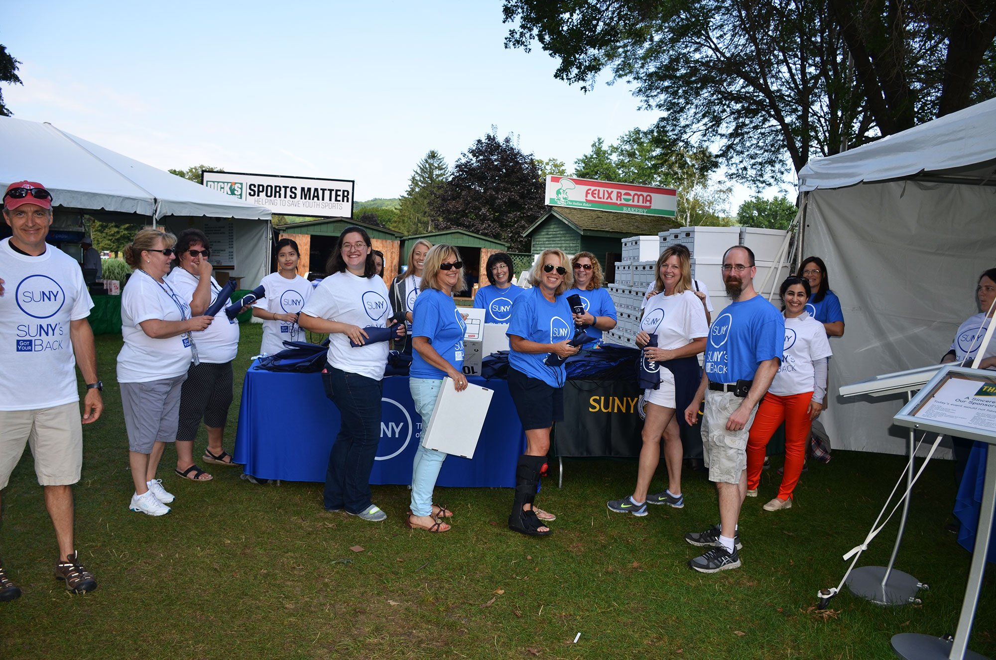 Thank you to all the volunteers making a difference @dicksopengolf. Victims of assault are not alone - we stand with them. #SUNYsGotYourBack https://t.co/R2MLtiwyEh