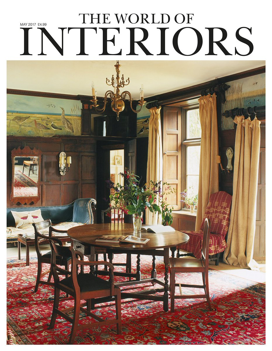 World of Interiors on Twitter: \