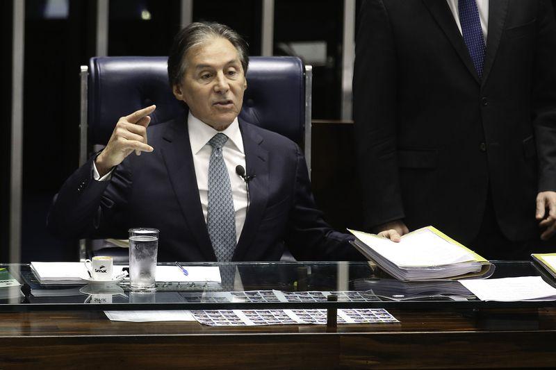 Eunício Oliveira afirma que salário mínimo terá pelo menos a correção da inflação. https://t.co/JsiytZNKCo 📷 Fabio Rodrigues Pozzebom/ABr