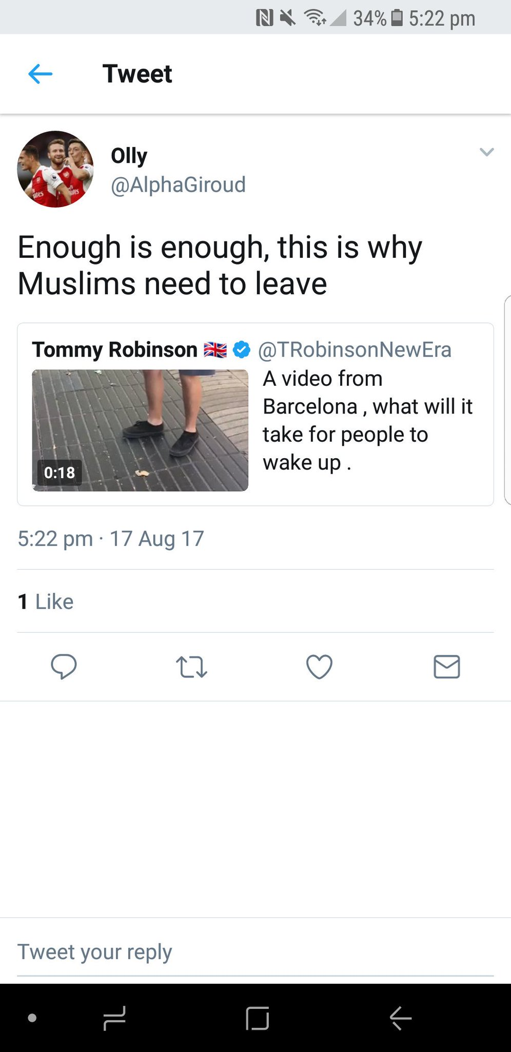 RT @MITROVlC: Anyone gonna tell him his Avi is 3 Muslims? https://t.co/ntLp4bYCSg