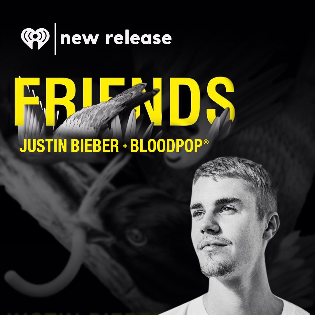 Press play and listen all day long to @justinbieber's new hit, #Friend...
