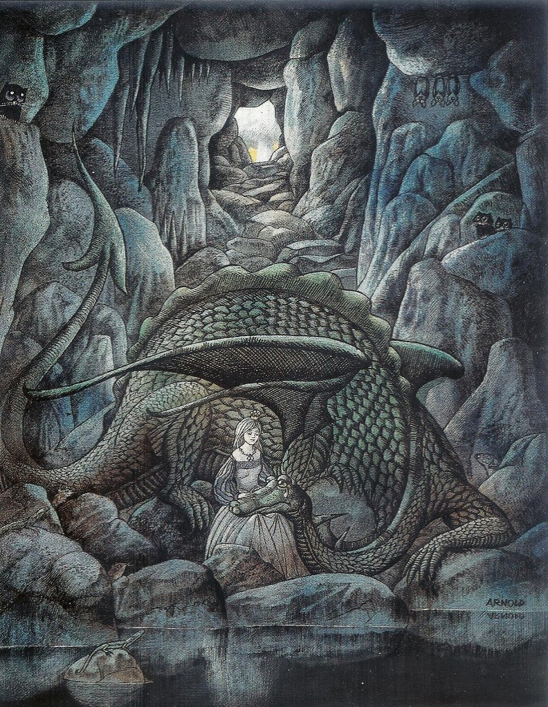 Hans Arnold was born in #Switzerland, but spent most of his career in #Sweden. He&#39;s widely known for his horror and folktale art. <br>http://pic.twitter.com/cD31moXeXt
