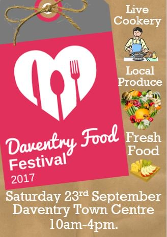 Come along to the Daventry Food Festival this September with lots of food and drink produced locally! #local #daventry #northants #produce <br>http://pic.twitter.com/kMf7RThvS9
