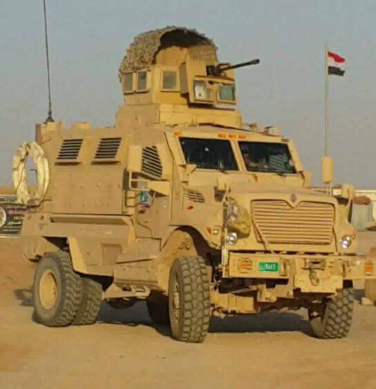 العراق يستلم 30 عربه MRAP نوع MaxxPro DHckKgTXkAAsw4f