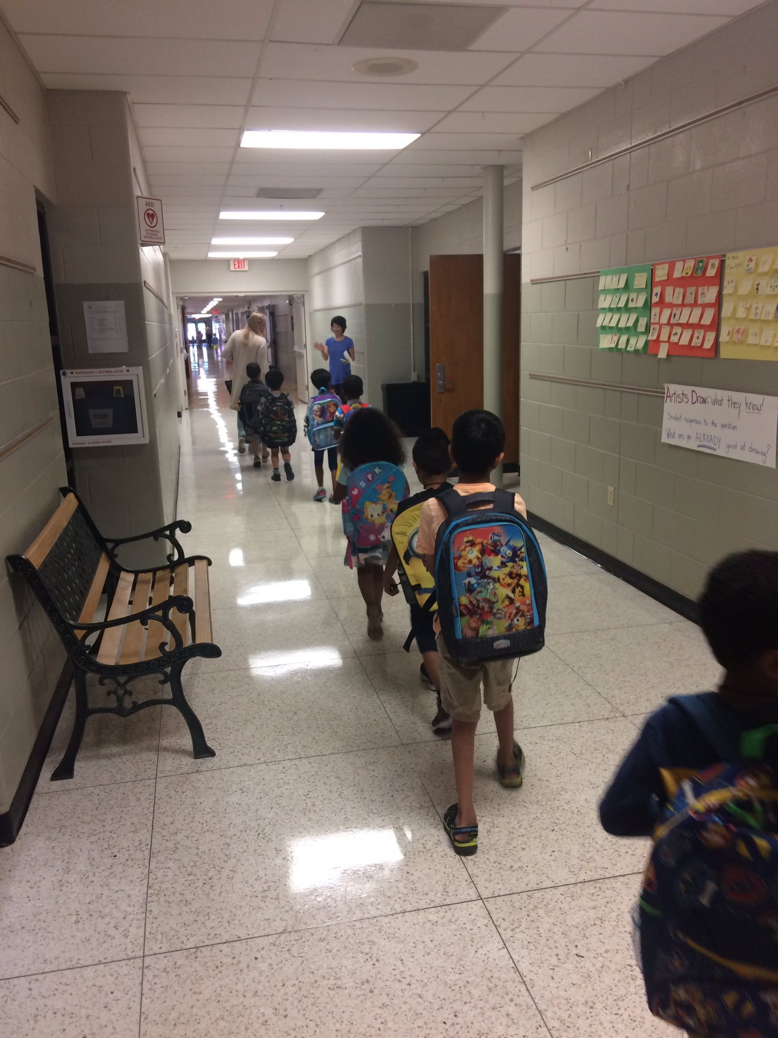 First day of afternoon K for our second Phase-In day.  Welcome, kindergarteners!  #dcsday2 #thedublindifference @DublinSchools https://t.co/sDz4pTjn2c