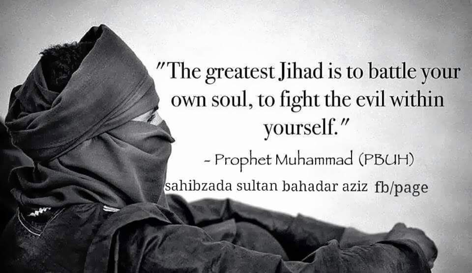 #Greatest #jihad is to #battle ur own #soul, 2 #fight the #evil within urself @Hadithoftheday @DailyHadith   http://www. Alfaqr.net  &nbsp;  <br>http://pic.twitter.com/1hQOrroxOV