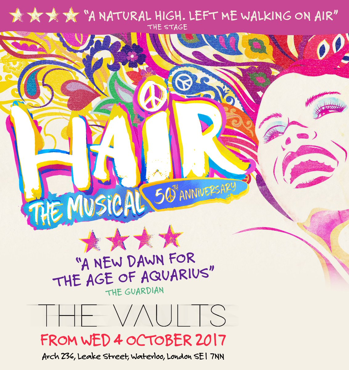 RT and FOLLOW for a chance #WIN tickets for #HAIR at @thevaultsuk #London this autumn #JoinTheTribe  http:// hair50.com  &nbsp;  <br>http://pic.twitter.com/PMd2fM5BRJ