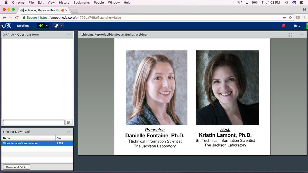 It&#39;s webinar time!  #reproducibility <br>http://pic.twitter.com/kvokQF0XUw