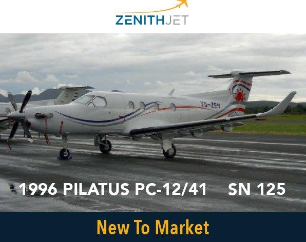 Pilatus PC-12/41 - New to Market at @ZenithJet. For more details click at #aircraftforsale #bizjet #bizav  http:// ow.ly/B8hQ30eu8eX  &nbsp;  <br>http://pic.twitter.com/JrY5ZcfII6