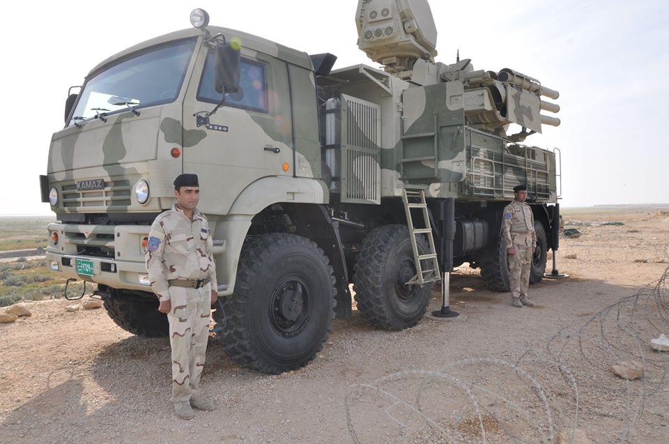 20 منظومة بانتسير أس-1 الروسية لحماية أجواء العراق  DHcnQ6fWAAAfaly