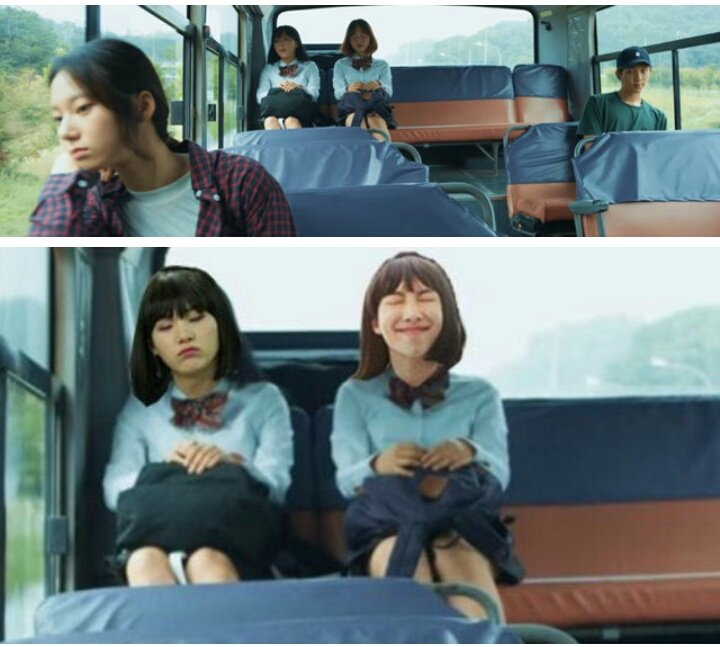 Of love bus girls pictures
