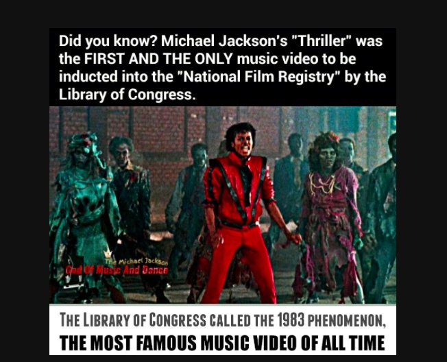And #Thriller had been previously added to Library of Congress Nat&#39;l Recording Registry in 2008- #MichaelJackson IS OUR National Treasure!!<br>http://pic.twitter.com/GvxYsh1gFA
