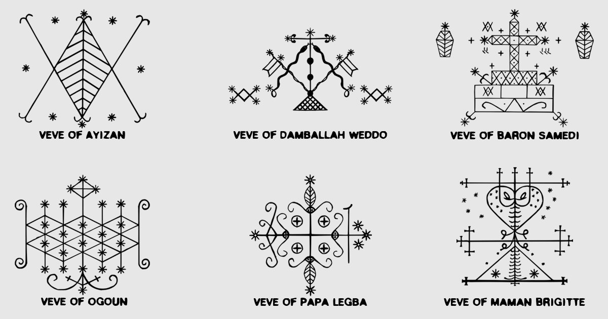 Ml House Of Voodoo On Twitter A Veve Is A Religious Symbol That