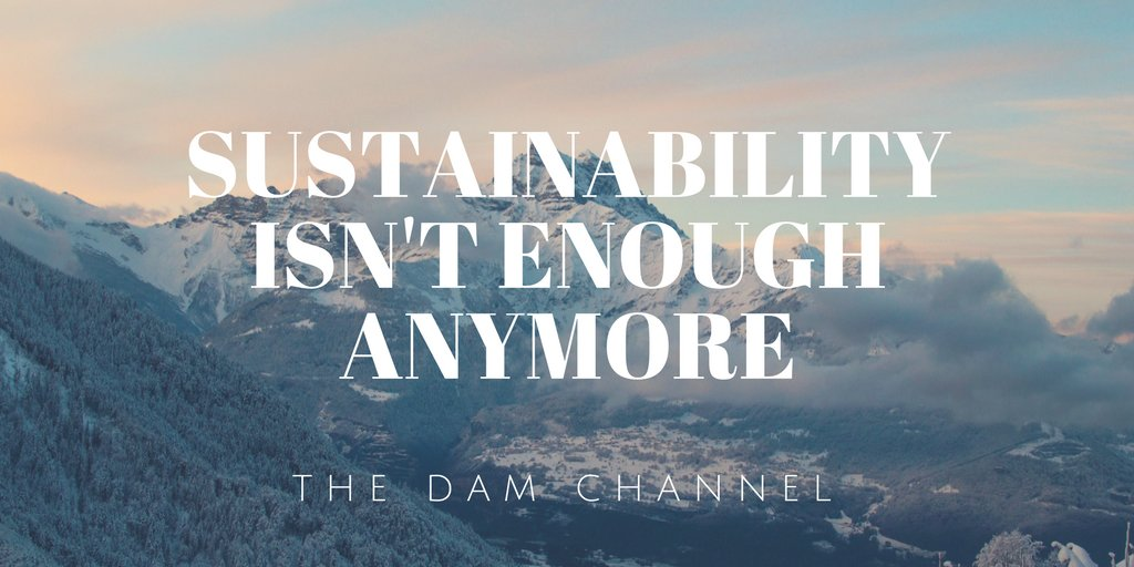 #sustainability isn&#39;t enough anymore. We must seek #regenerative systems.   https:// youtu.be/8DVCahrBDc8  &nbsp;  <br>http://pic.twitter.com/r6Jgs2SvQ8