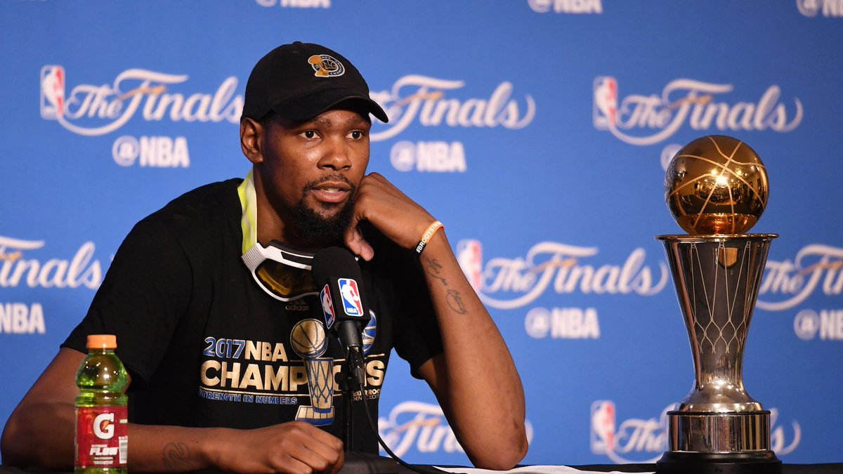 Kevin Durant says he will not visit White House: 'I don't respect who'...