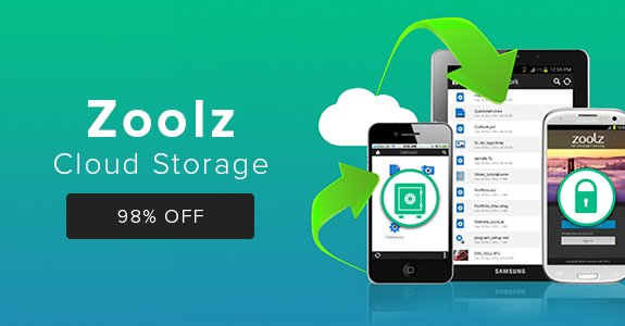 Lock in reliable cloud storage and trash those hard drives - Zoolz Cloud Storage: 2TB Lifetime Subscription, $50:  https://t.co/ZtPUCt8BDK