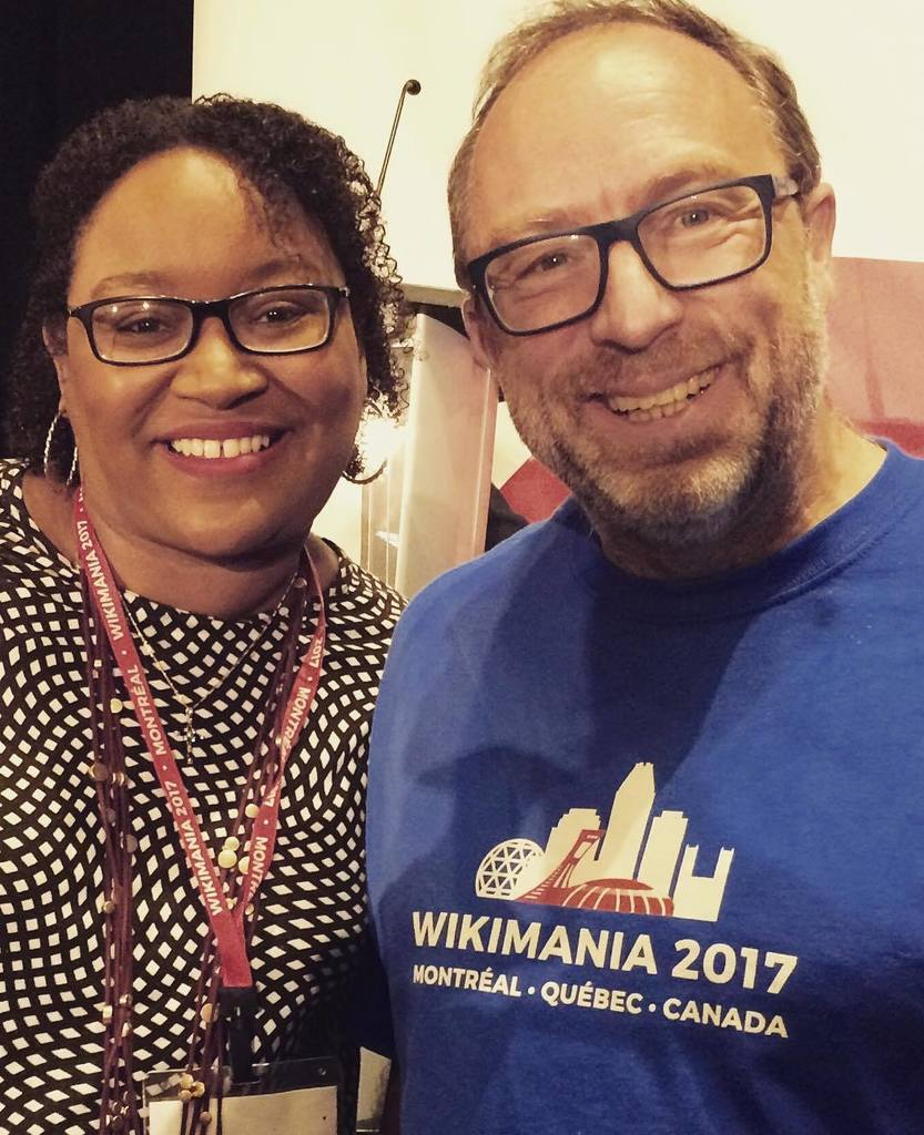 That&#39;s our @SherryAntoine7 with @Wikipedia founder @jimmywales1 @Wikimania17 #AfroCROWD #Wikipedia #Wiki @WikiconN…  http:// ift.tt/2w6mWWq  &nbsp;  <br>http://pic.twitter.com/JavuwCp8GQ