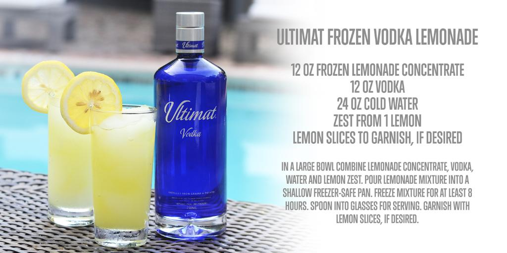Ultimat Vodka On Twitter Frozen Drinks And Chill Nights With