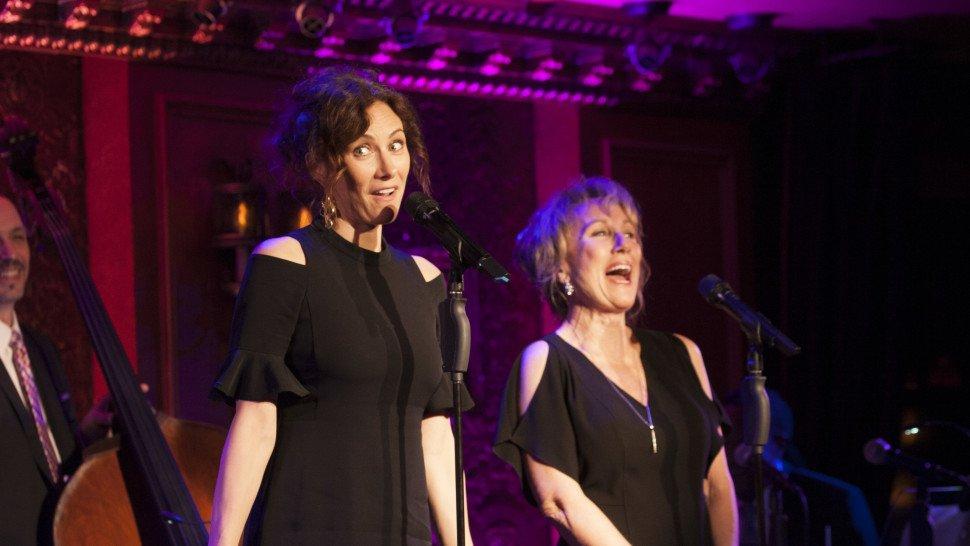 .@LauraBenanti and Linda Benanti will return to @54Below for a Februar...