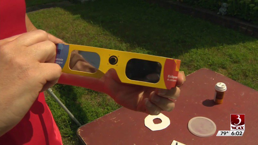 Can't get those coveted eclipse glasses? @WCAX_Jennifer has tips on some DIY options https://t.co/nqokZQx6C4 #vt