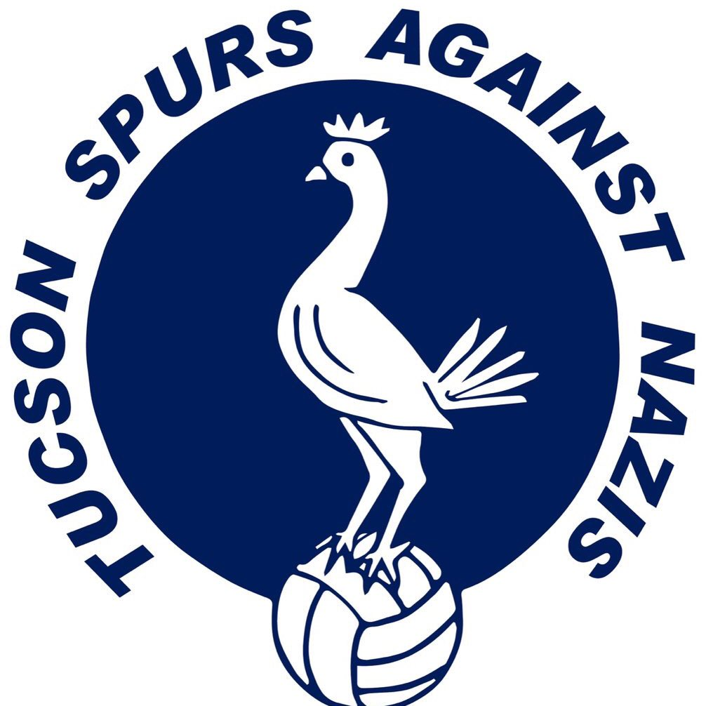 Tucson Spurs opposes Nazism. Happy to stand in solidarity with @AustinSpurs and others #coys <br>http://pic.twitter.com/mjscCE4nK5