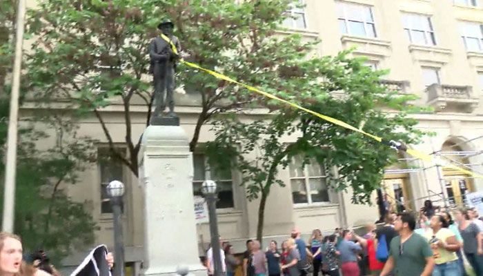 4 more Durham Confederate statue protesters arrested; 8 total facing charges» https://t.co/eMtblypCkK