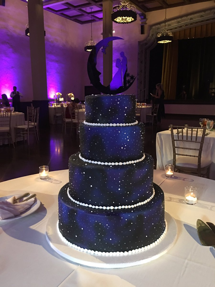 galaxy themed wedding cake emily calandrelli on quot if you don t a galaxy 14630