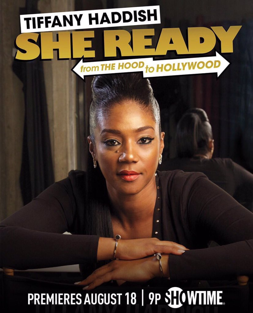 Peep @TiffanyHaddish's Comedy Special on Showtime 9pm Tonight #SheRead...