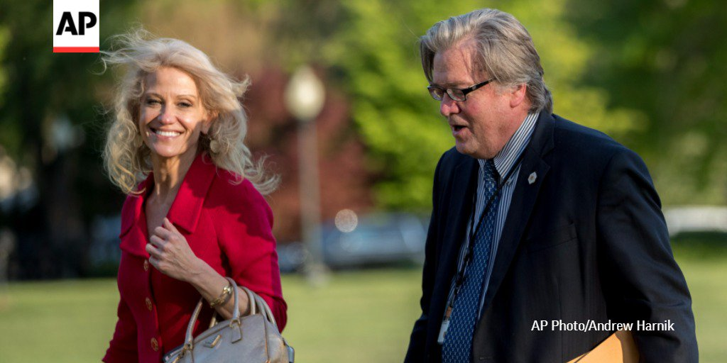 As DC debates Bannon's future, #TBT to a year ago today when he and Kellyanne Conway joined Trump's campaign team. https://t.co/BXi8oHrJeH
