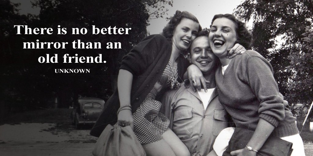 There is no better mirror than an old friend. - Unknown #quote <br>http://pic.twitter.com/sDjFPzPlBm