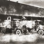 Throwback Thursday shout out to the brewers before us. Vancouver Brewery Trucks loading up for a beer run in 1923.  #tbt #themainbeer