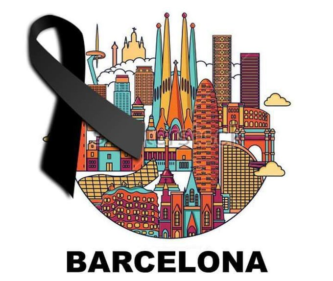 Sending all my love to Barcelona and those affected by this horrible tragedy https://t.co/U4Y8Oi3Q2y