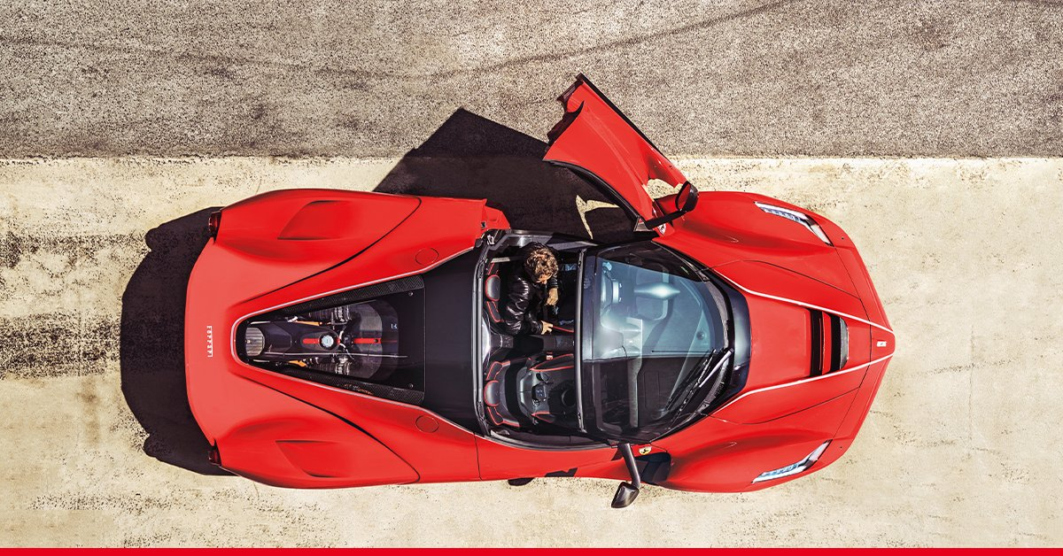 Ferrari On Twitter A Special Driver For The Laferrariaperta
