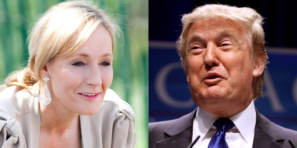 J.K. Rowling just hit Trump with the sickest burn of his presidency: https://t.co/H4PcAgb2Ml